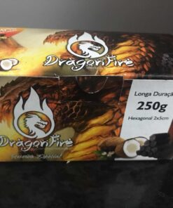 CARVÃO DE COCO DRAGON FIRE 250G