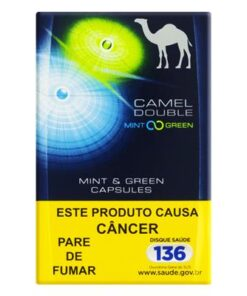 CIGARRO CAMEL DOUBLE MINT GREEN