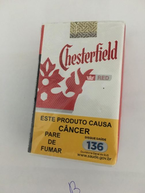 CIGARRO CHESTERFIELD RED BOX