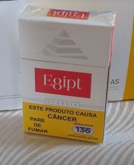CIGARRO EGIPT RED BOX