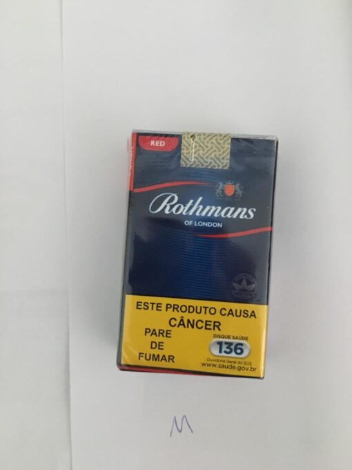 CIGARRO ROTHMANS RED MAÇO 1