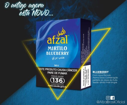 ESSENCIA AFZAL BLUEBERRY MIRTILO
