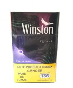 CIGARRO WINSTON PURPLE MINT CIGARRO WINSTON PURPLE MINT
