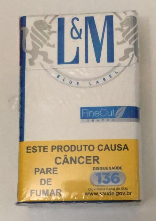CIGARRO L & M BLUE LABEL