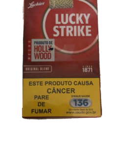 cigarro lucky strike novo