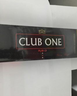 PACOTE DE CIGARROS CLUB ONE RED