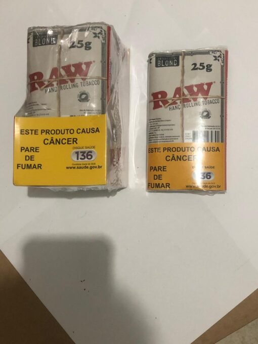 FUMO TABACO RAW BLOND