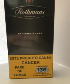 CIGARRO ROTHMANS INTERNATIONAL LONGO