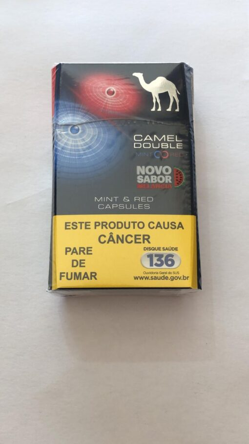 CIGARRO CAMEL MINT & RED CAPSULE