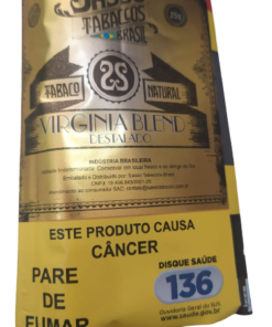 Tabaco Sasso Virginia Blend Destalado - 25g